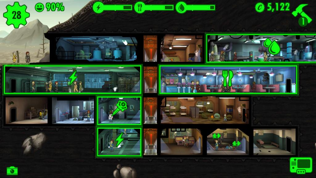 Fallout Shelter : des datas, encore des datas