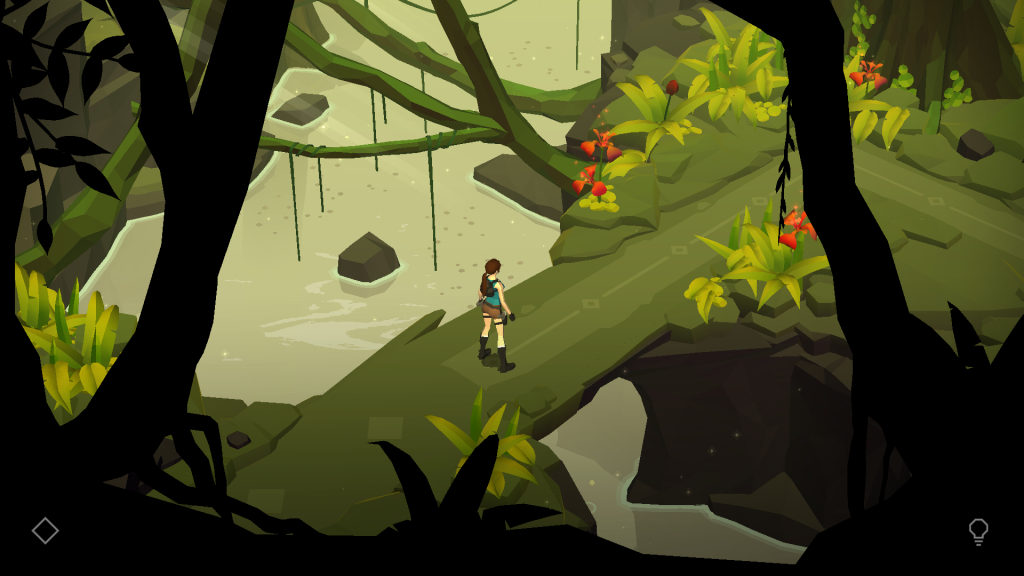 Lara Croft Go - Visuel
